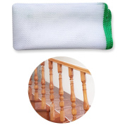 Lzttyee Balcony & Stairway Thicken Rail Net Safety Mesh Net Baby Pet Railing Protector for Stairs, Balcony, or Patios, 3m
