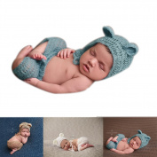 Newborn Baby Photography Photo Props Boy Girl Costume Outfits Hat Pants
