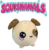 Squishamals - 8.9cm DASIE THE DOG - Super-Squishy Foamed Stuffed Animal! Squishy, Squeezable, Cute, Soft, Adorable!