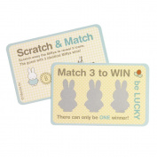 Neviti 599394 Baby Miffy Scratch Card