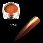 Alonea Nail Powder, Chameleon Holo Mirror Nail Art Glitter Powder Chrome Pigment Decor Born Pretty