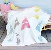 Fussenegger Juwel L Indian L Flannel L Children's Blanket 100x140 L Pink Bunt