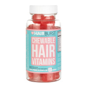 HAIRBURST ™ CHEWABLE Vitamins for Hair Growth - One Month Supply - 60 GUMMIES - Faster Hair Growth and .