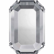 2610 Flatback Crystals Hotfix Rectangle | Crystal | 6x4mm - Pack of 10 | Small & Wholesale Packs | Free Delivery