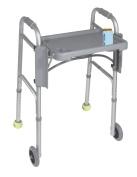 Deluxe Folding Walker Tray, Grey, 41cm x 30cm
