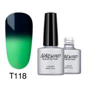 Huphoon 8ML Colour Changing Nail Gel Polish UV LED Gel Polish Colourful Nail Art