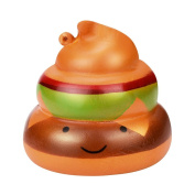 Slow Rising Squishies Jumbo, Amlaiworld Exquisite Fun Poo Kawaii Squishy Slow Rising Cream Scented Stress Reliever Toys