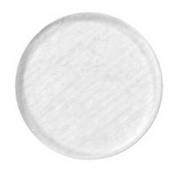 Fuse It! Pre-Cut Clear Circles 3.8cm 96coe (pkg/3) By Stallings Stained Glass