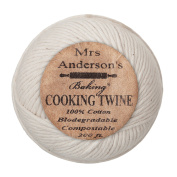Mrs. Anderson's Baking Cooking Twine, Made in America, All-Natural Cotton, 60m
