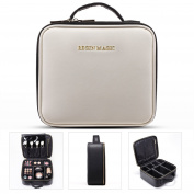 BEGIN MAGIC Mini Makeup Train Case / Portable makeup bag / Small Cosmetic Organiser Case - MINI