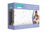Lansinoh Nursie Breastfeeding Pillow, Slip-On Arm Nursing Pillow & Positioner for Breastfeeding Mothers, Compact, Lightweight, Portable, Ideal for C-Section Tummies, 100% Cotton Cover, 1 Count