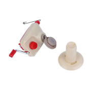 Portable Hand Operated Fibre String Yarn Skein Ball Machine Wool String Winder Handle Thread MuLuo