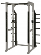 York Barbell STS Power Rack - Silver