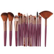 LUFA 18Pcs Eye Makeup Brushes Makeup Brush Sets Beauty Tools Eye Shadow Beauty Brush Cosmetic Brush Set
