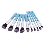 LUFA 10Pcs Eye Makeup Brushes Makeup Brush Sets Beauty Tools Eye Shadow Beauty Brush Cosmetic Brush Set