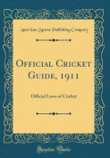 Official Cricket Guide, 1911