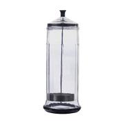 Danyel Beauty Glass Disinfecting Jar For Salon & Barbershop