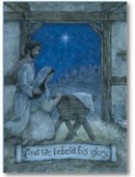 Legacy Publishing Group Deluxe Boxed Holiday Greeting Cards with Scripture, At the Stable