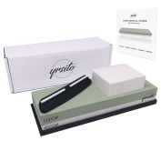 Yrsito Sharpening Stone - Double Face 1000/4000 The Most Versatile - Will Give Rebirth To Your Knives - Allows Quality Sharpening - OFFERED