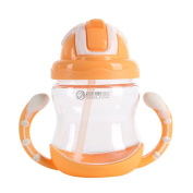 Blaward Toddler Kids Straw Cup Baby Trainer Drinking Water Bottle with Handle 320ml