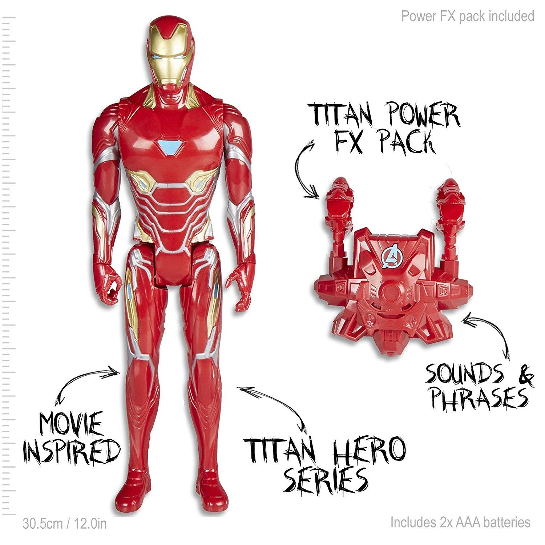 Marvel Infinity War Titan Hero Power FX Iron Man by Avengers - Shop ...