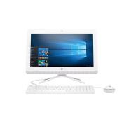 "HP 20-C012A Home AIO in White 19.5"" 1080p FullHD Intel Pentium J3710 8GB 1TB DVDRW Win10 Home 64bit"