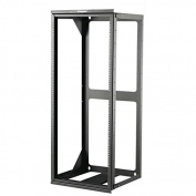 C2G/Cables To Go 14619 25U Hinged Wall Mount Open Frame Rack 46cm Deep