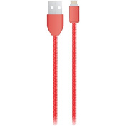 IESSENTIALS IE-BC6IP5-RD Tangle-Free Charge & Sync Lightning(R) USB Cable, 1.8m