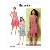 McCall Pattern B6349-0Y0 Misses' Handkerchief Or Straight-Hem Dresses