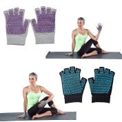 Non-slip Yoga Gloves & Socks Combo