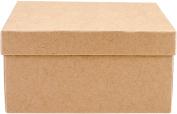 Art Alternatives MVPM06201 Paper-Mache Square Box Set 5/Pkg