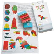 Modular Origami Kit-Parrot