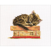 Cat's Dream Counted Cross Stitch Kit-20cm x 17cm 14 Count