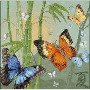 Butterflies Counted Cross Stitch Kit-35cm x 35cm 14 Count
