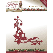 Find It Trading Amy Design Christmas Greetings Die-Poinsettia Corner