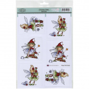 Hobby House Christmas Magic Sugar Nellie Topper Sheet, 22cm by 31cm