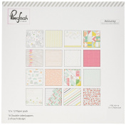 Pinkfresh Studio PFRC100116 Felicity Paper Collection (16 Pack), 30cm by 30cm , Multicolor