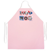 "Attitude Aprons Fully Adjustable ""Craft Mom Apron"" Artist Apron"
