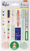 RC100517 Dream On Washi Stickers 10cm x 15cm 3/Pkg-