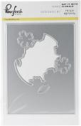 Pinkfresh Studio PFCC2517 Die 9.5cm x 13cm -Say It with Florals