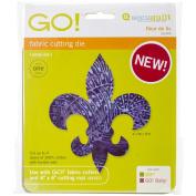 Go! Fabric Cutting Dies-Fleur De Lis 4.5x5
