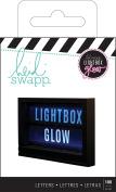 American Crafts Heidi Swapp Light Box Glow Bold Alphabet Mega Pack