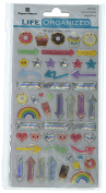 Paper House Productions Kawaii Stickers 3, 3-Pack, Epoxy