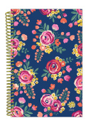 bloom daily planners 2018 Calendar Year Daily Planner - Passion/Goal Organiser - Monthly and Weekly Datebook and Calendar - January 2018 - December 5130cm - 15cm x 21cm - Vintage Floral