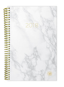 bloom daily planners 2018 Calendar Year Daily Planner - Passion/Goal Organiser - Monthly and Weekly Datebook and Calendar - January 2018 - December 5130cm - 15cm x 21cm - Marble