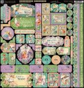 Fairie Dust Sticker Sheet - Graphic 45
