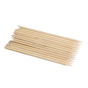 50pcs Nail Art Orange Wood Stick Cuticle Remover Nail Care Tools