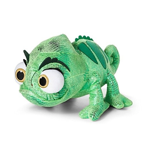 disney tangled rapunzel s green chameleon pascal plush toy 17 by