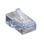 Black Box CAT6 EZ-RJ45 Modular Plugs, 100-Pack