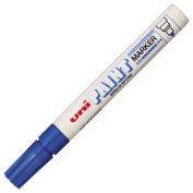 Uni-Ball Paint Marker Bullet Tip Medium Point Px20 Line Width 2.2-2.8mm Blue Ref 9001923 [Pack 12]